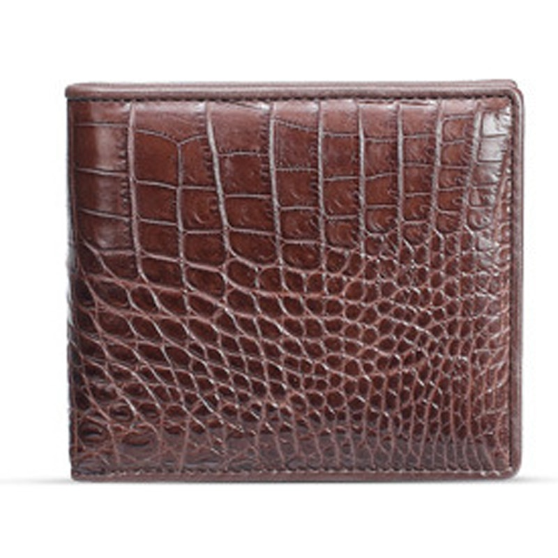 Crocodile Belly Coin Purse Men's Short Leather Wallet Suit Horizontal Men's Multi-Card Wallet