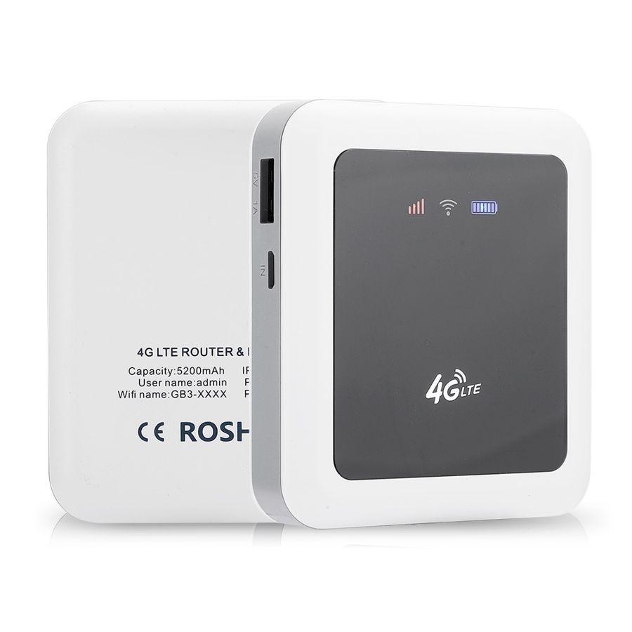 Enrutador WiFi inalámbrico 4G/3G 150Mbps Mini enrutador portátil Universal sin tarjeta SIM versión blanca internacional