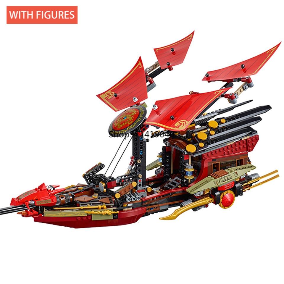 1325 pcs voo destino barco bounty navio modelo blocos de construcao tijolos meninos
