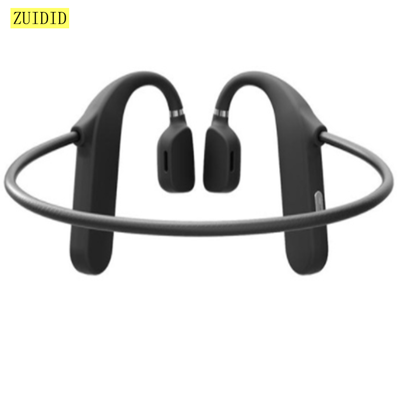 MD04 Wireless Stereo Headset Bone Conduction Headphone Bluetooth 5.0 Noise Reduction Sport Music Ear