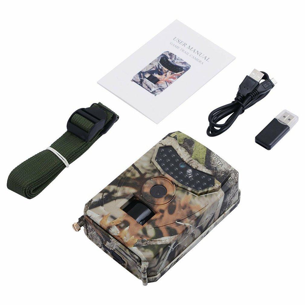 Mini cámara de caza Pr-100 infrarrojo HD 1080P cámara de imagen térmica ABS visión nocturna Seguimiento de vida salvaje a prueba de agua