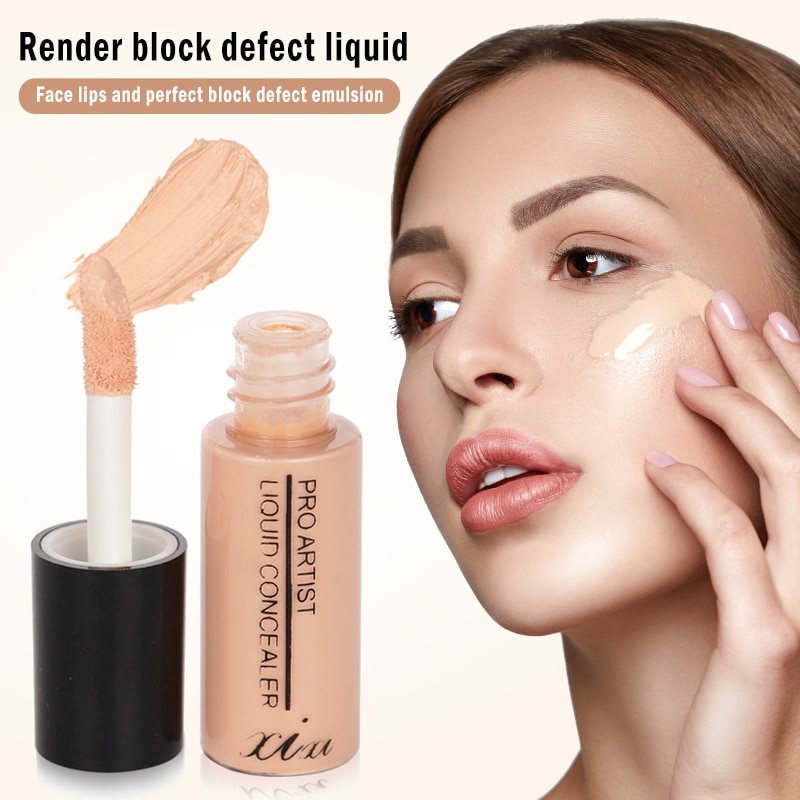 Liquid Concealer Stick Dark Circle Scars Acne Fine Lines Cover Smooth Makeup Face Eyes Cosmetic Foun