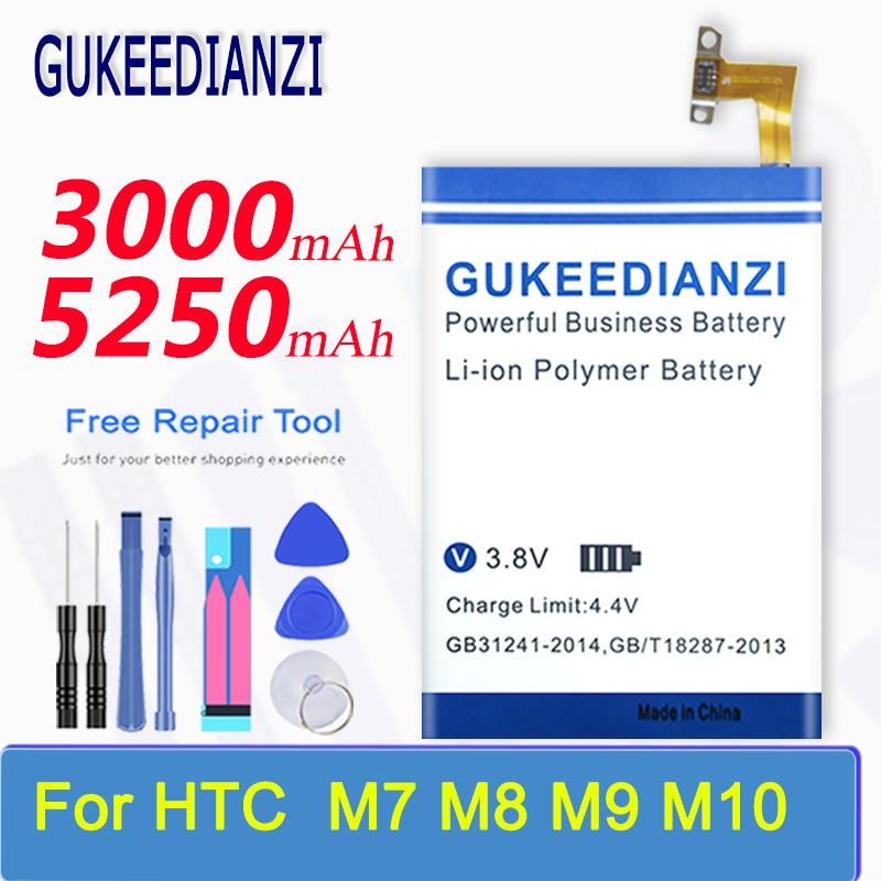 «Bateria para htc one m8 one 2 m8t m8x m8d e8 m8sw/one m7 802d 802t/one m9 m9 + m9w one m9 plus/one m10 10/10 estilo de vida