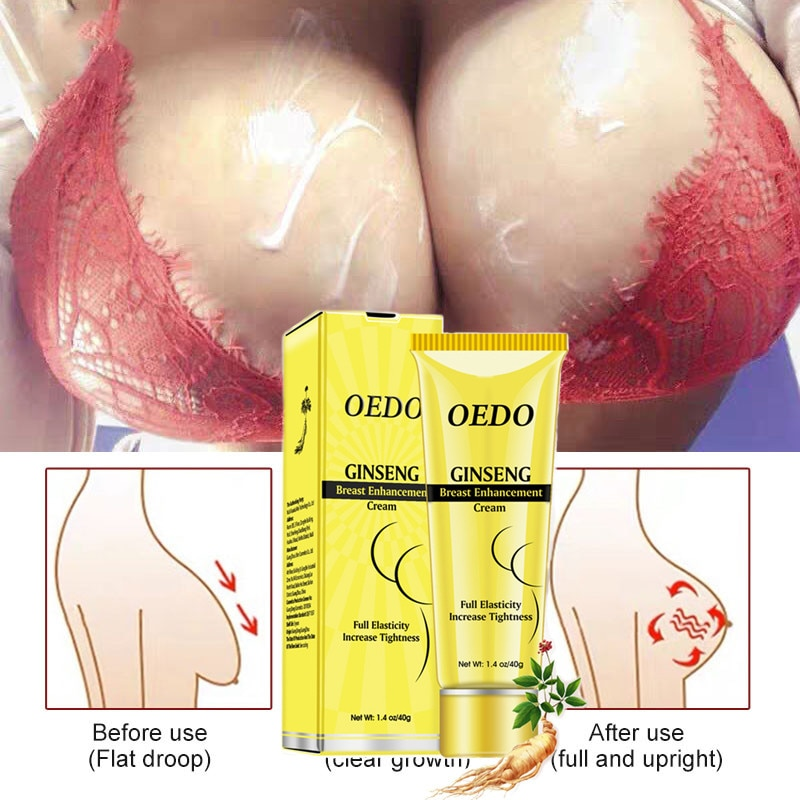 OEDO Ginseng Breast Enlargement Cream Firming Lifting Breast Prevent Sagging Chest Care Up Size Bust