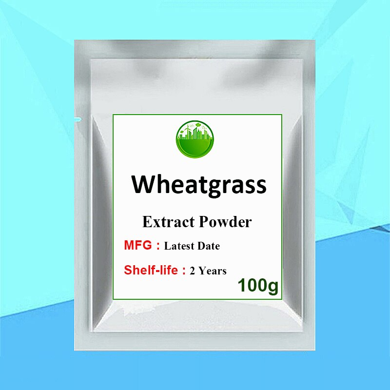 Natural Wheatgrass Extract Juice Powder,Golden GMP Supplier,Skin and Hair Care Supplements Health Care Energy Booster