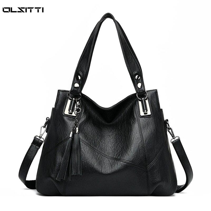 High Quality Leather Crossbody Bags for Women 2020 New Luxury Handbags Designer Shoulder Bag Bolsa F