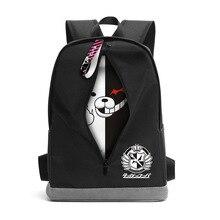 مضحك تصميم دانغان رومبا دانغانرونا مونوكوما كورجي حقيبة ظهر تحمل على الكتف حقائب مدرسية