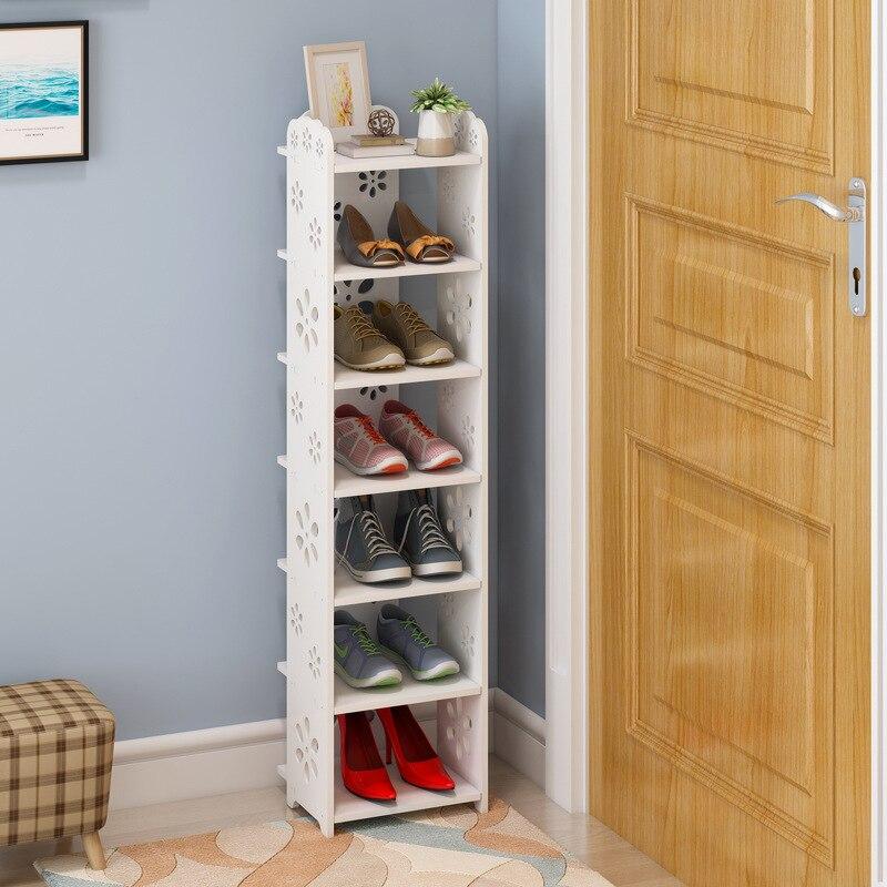 المنزل بسيط رف حذاء صغير بسيط الاقتصاد المنزلية متعددة الطبقات الجمعية الفضاء تخزين الرف خزانة خذاء