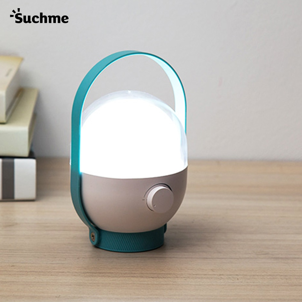 Suchme KL-7738 Portable Camping Lantern Rechargeable Lantern USB Rechargeable Camping Tools Camping Equipment Portable LED Light
