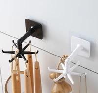Crochet de pesage Portable surdimensionne  rotation a 360    sans poincon  ustensiles de cuisine  etanche  sans marquage  support de salle de bains