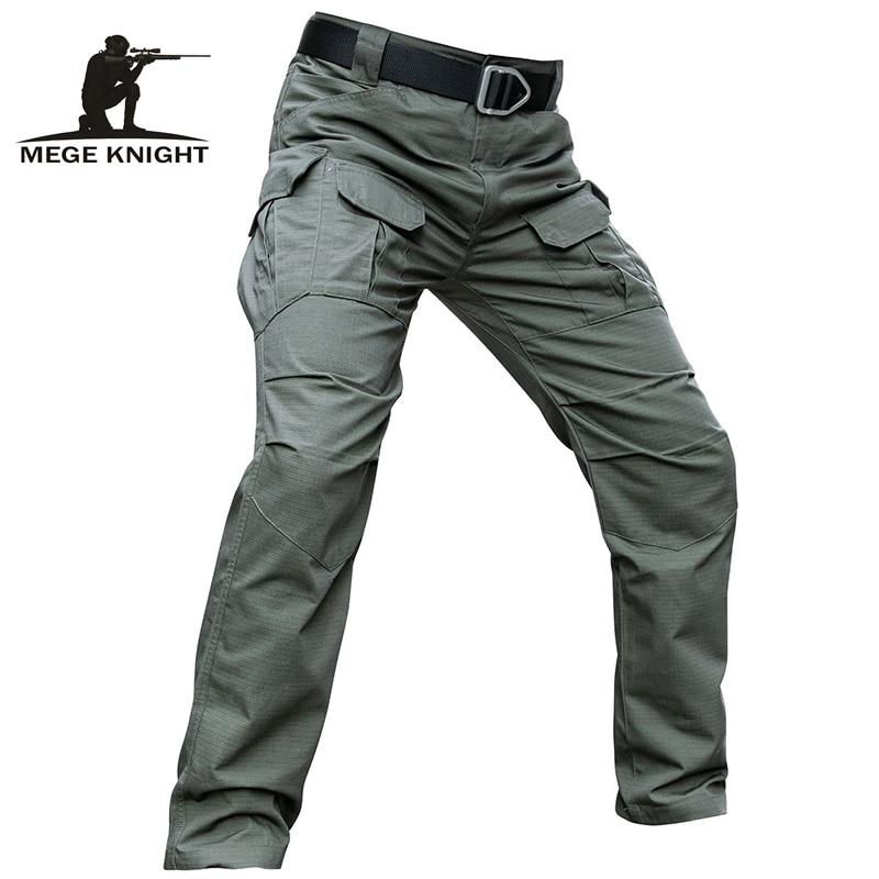 Mege-سراويل تكتيكية للرجال ، ملابس عسكرية مموهة ، قتالية ، شحن غير رسمي ، توصيل مباشر من المصنع