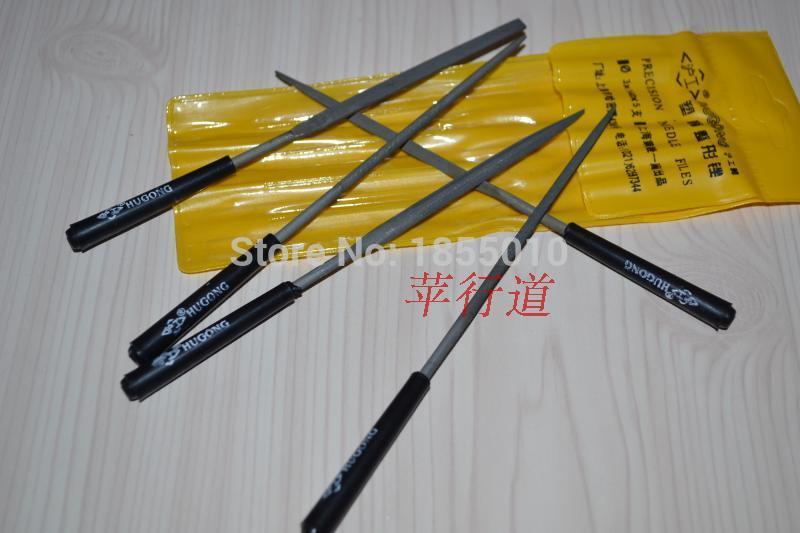 5 vnt / rinkinys 3 * 140 mm adatų rinkinių, juvelyro deimantų - Rankiniai įrankiai - Nuotrauka 2
