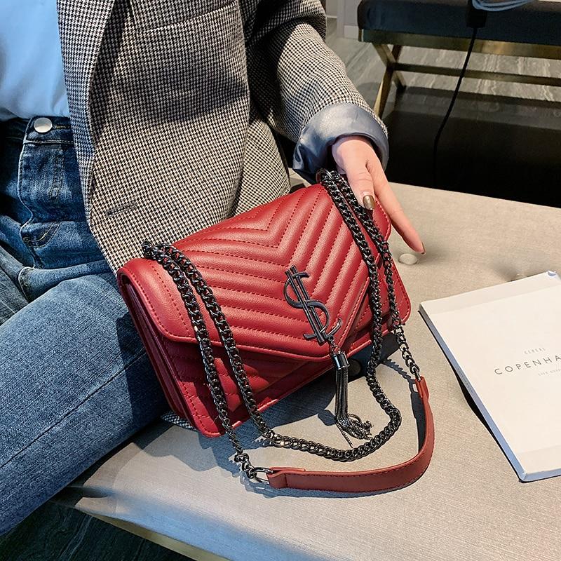 2020 brand Luxury Handbags Women Bags Designer leather Shoulder handbag Messenger female bag Crossbody Bags For Women sac a main