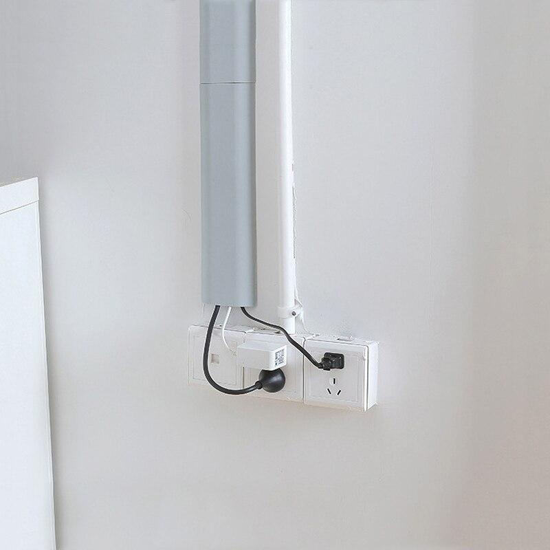 Cable de red, Conector de almacenamiento, Cable de pared, abrazaderas de Cable, organizador de Cable, abrazaderas de Cable de ordenador, hogar, oficina, Cable seguro oculto