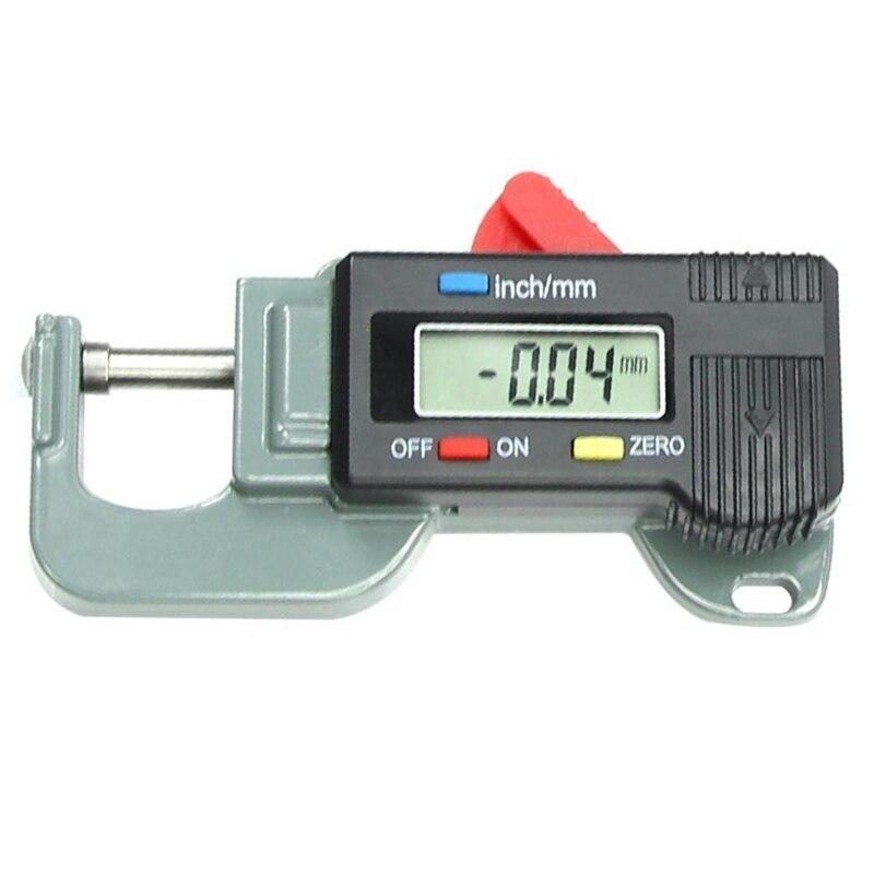 Ayhf-micrômetro preciso portátil 0 a 12.7mm do verificador do metal do medidor da espessura de digitas
