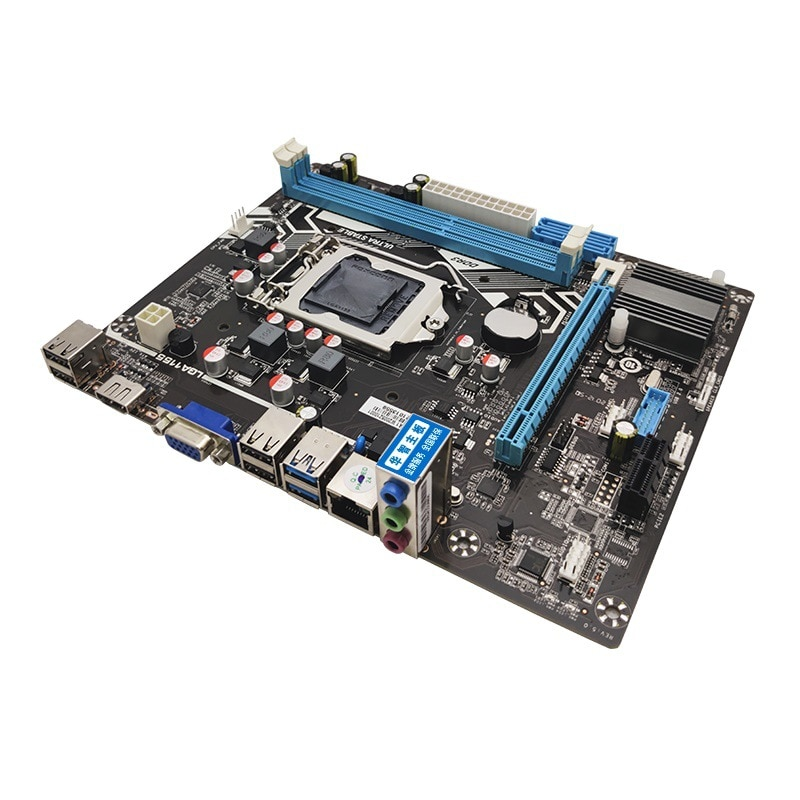 mobo Huazhi H61's new computer motherboard supports a full range of 1155-pin CPU dual-channel DDR3 memory enlarge