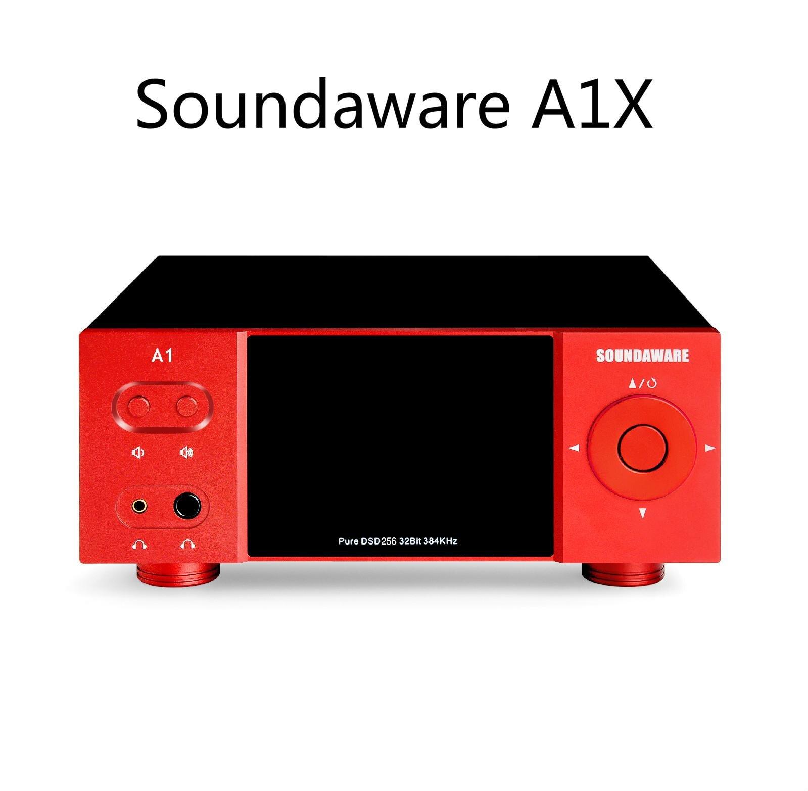Soundaware A1X-مشغل موسيقى متدفق محلي متعدد الوظائف ، بطاقة SD ، Airplay ، Roon DLNA ، USB ، DAC ، AMP ، CD Player ، DSD256 ، PCM384