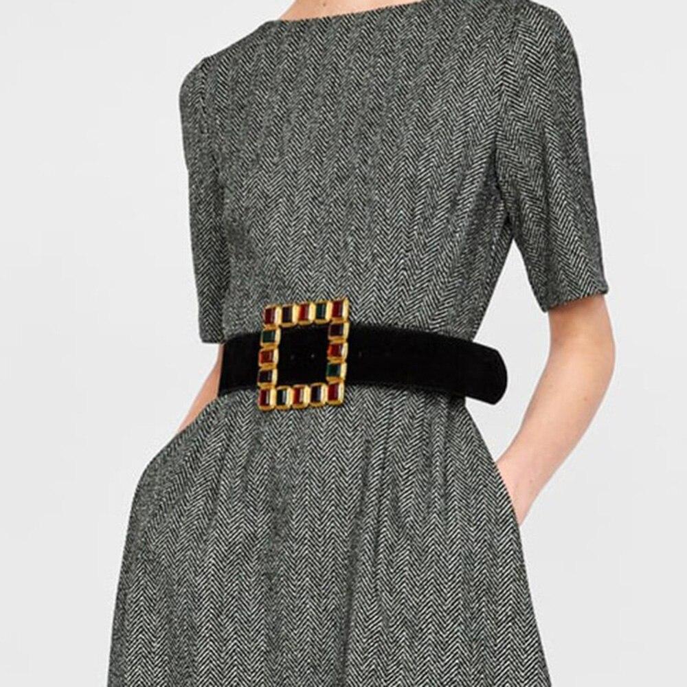 Lalynnly Vintage Crystal Belts Women Fashion Waist Belt Accessories Body Jewelry Leisure Dress Gifts Female Bijoux 2020 C01791
