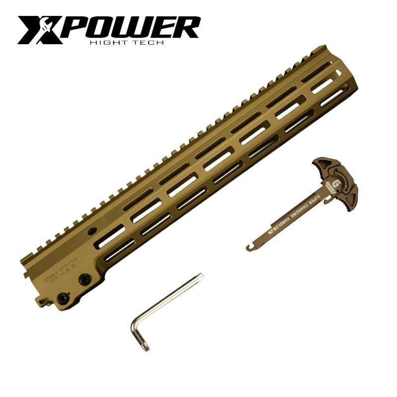 XPOWER MK16 Rail Handguard Air Paintball Gun Airsoft Guns Metal Tactical Accessories Shooting Sports