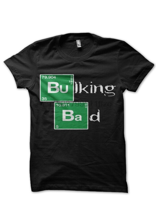 Camiseta negra Bulking Bad