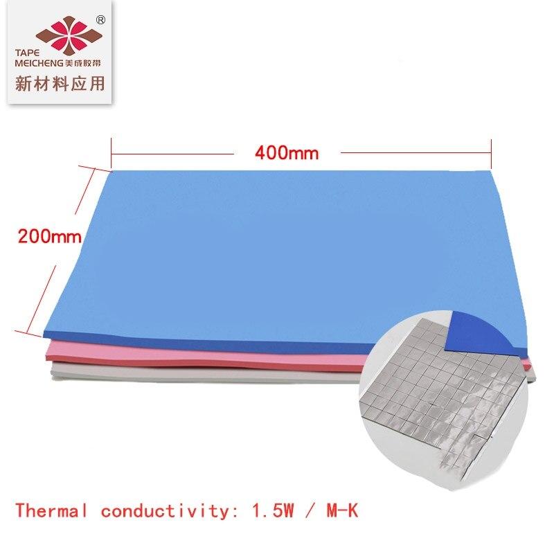 Теплопроводящий силиконовый коврик высокотемпературная изоляция светодиодный IC основная Панель алюминиевая подложка компьютерная видео...