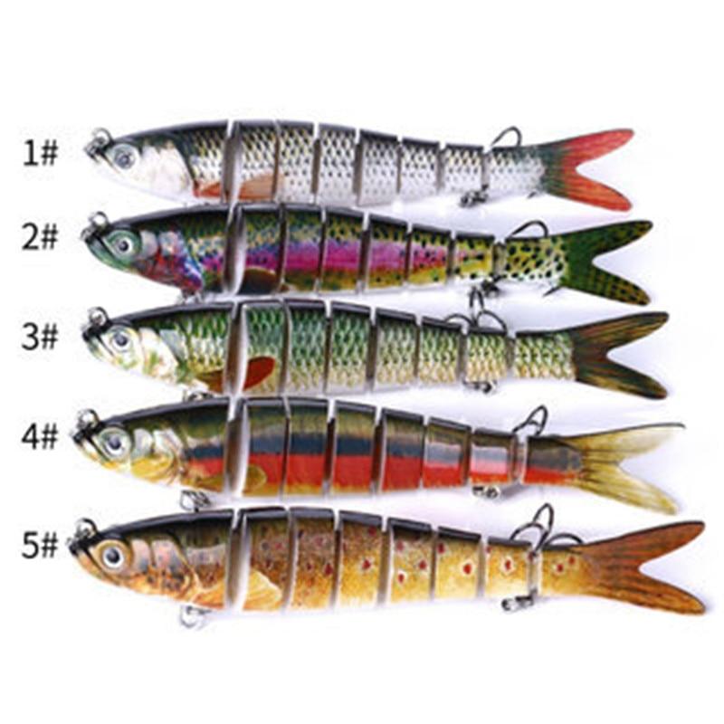 pescaria material de pesca lures fishing accessories bearking new 2020 leurre souple Multi-section fish multi-segment fake bait