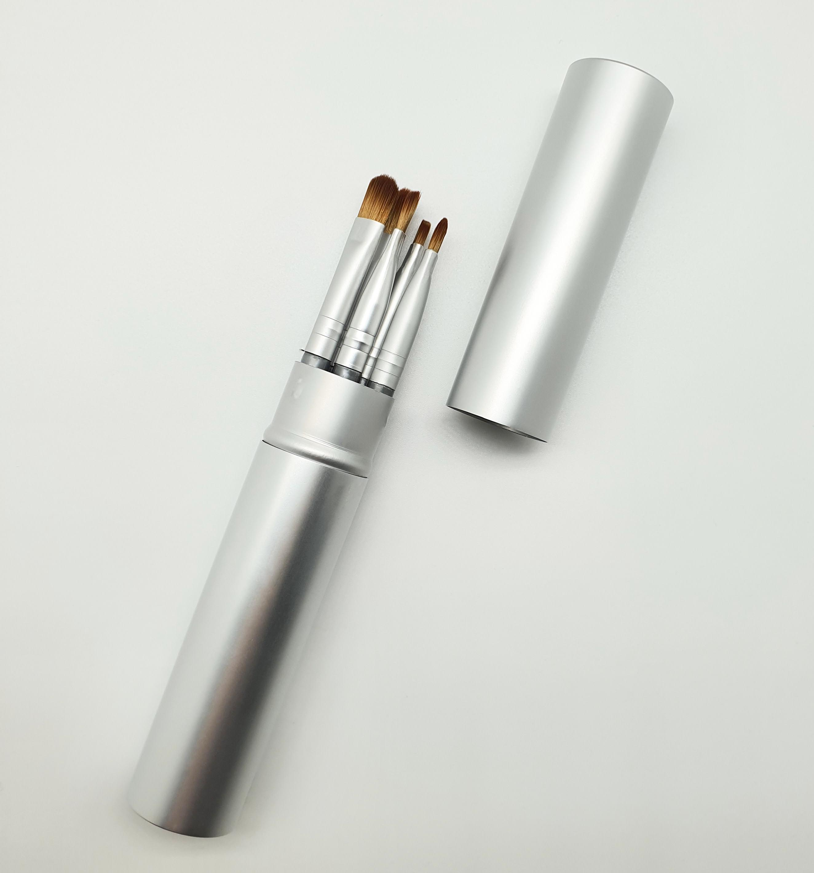 5 uds de sombra de ojos cepillo profesional herramienta de belleza de...