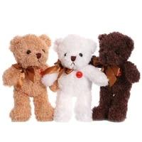 26cm bear plush toys dolls 3 style decoration birthday christmas gift to girlfriend home decor kawaii accessories wholesale