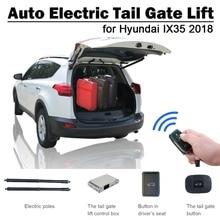 Lève-porte de queue électrique intelligent   Pour Hyundai IX35 2018 télécommande, ensemble de boutons de commande, évite le pincement