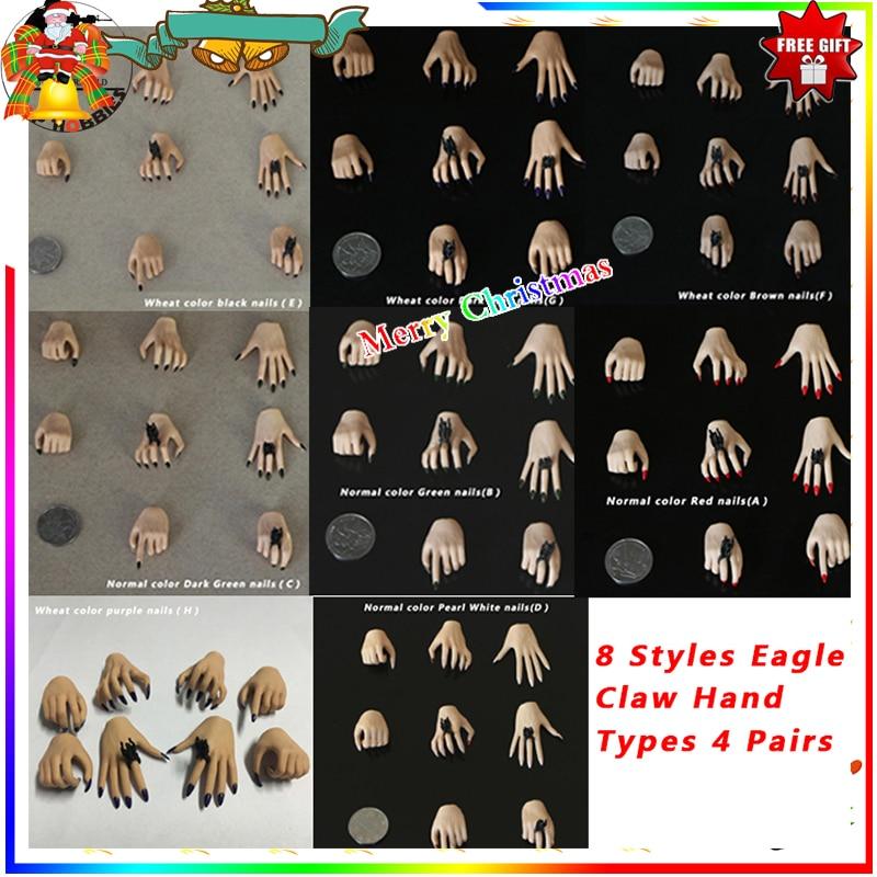 "Muñeca Phicen/set 1/6 para mano femenina de 12 "", muñeca Phicen, cuerpo, muñeca Phicen manos a escala 1/6 tipo F 16, cuerpo jiaouDoll"
