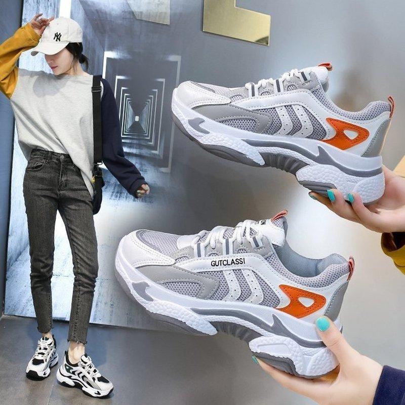 Zapatillas deportivas antideslizantes transpirables para Mujer, calzado deportivo para correr, color rosa