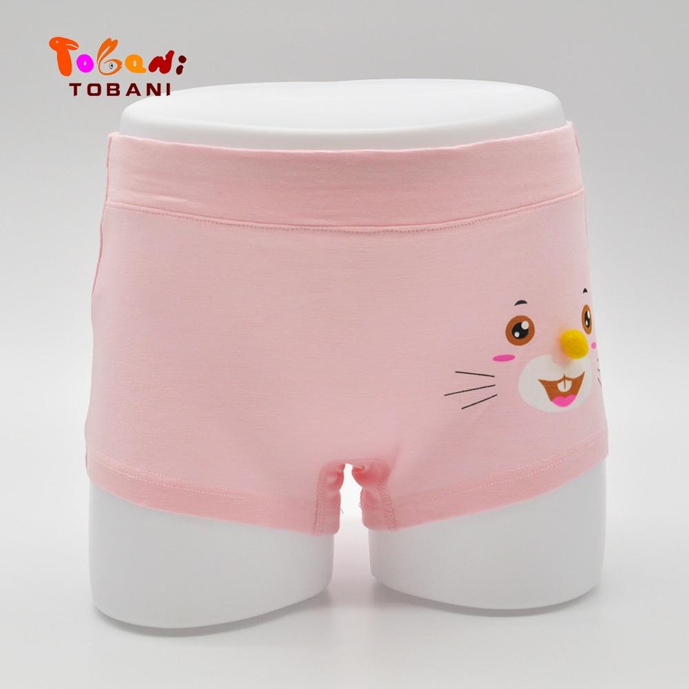 girls underwear modal briefs rainbow pattern children kids Baby Panties female cartoon baby girls underwear Tobani