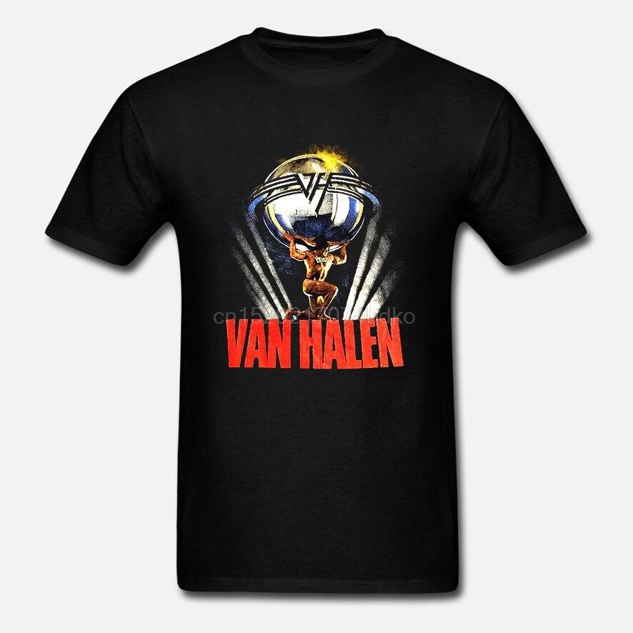 Nuevo Vintage Van-Halen-5150-Tour camisa-Camiseta de 1986 de EE. UU. Imprimir (2)