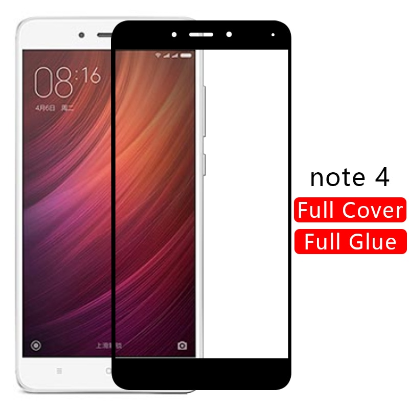 Funda para redmi note 4, protector de pantalla de cristal templado para xiaomi readmi note4 not 4, funda protectora para teléfono note 4, funda global