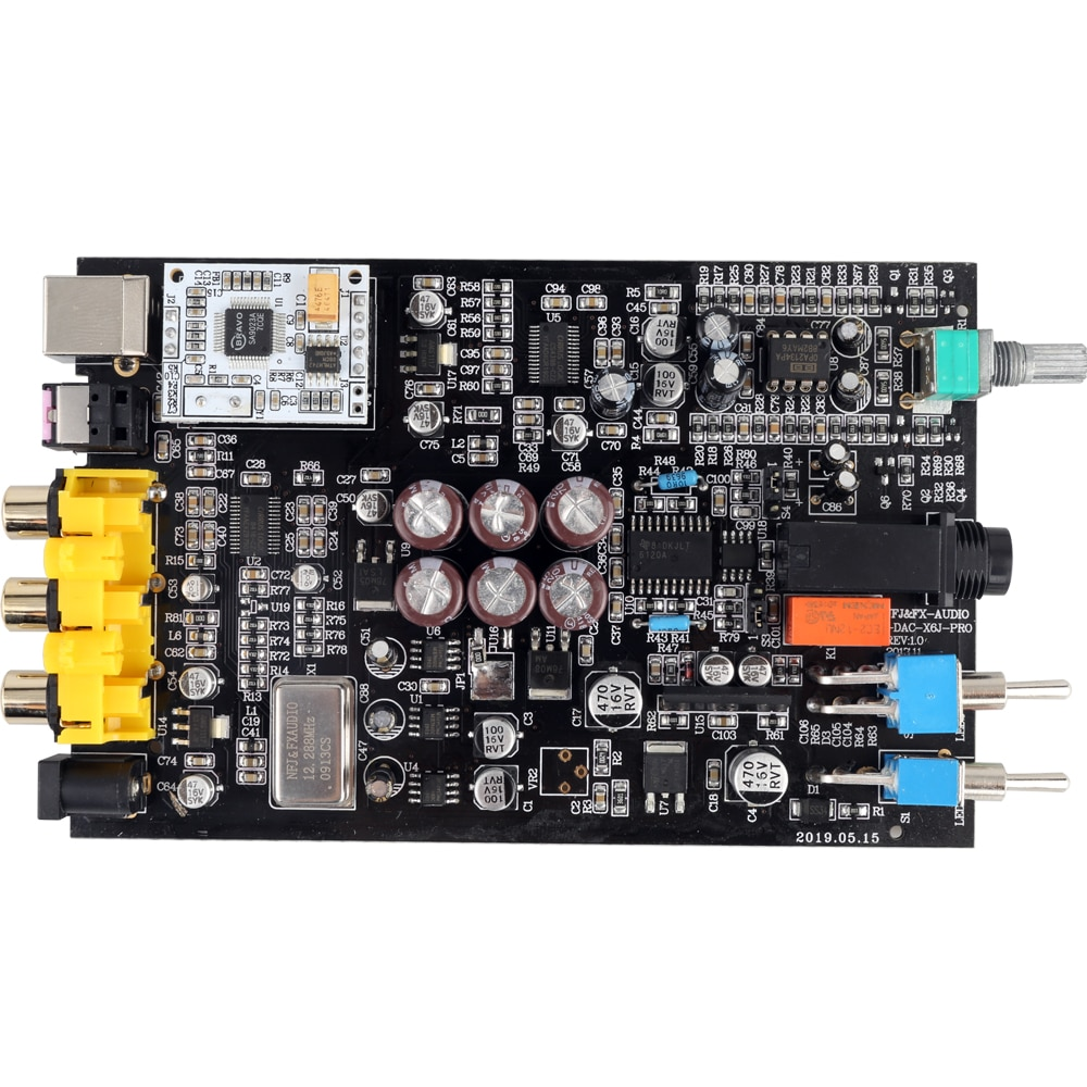 NEW FX-AUDIO DAC-X6 MINI HiFi 2.0 Digital Audio Decoder DAC Input USB/Coaxial/Optical Output RCA/ Amplifier 24Bit/96KHz DC12V enlarge