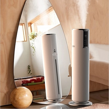220V Household Electric Ultrasonic Air Humidifier 8L Top Add Water Oil Aromatherapy Mist Maker Intelligent Fogger Fog Machine
