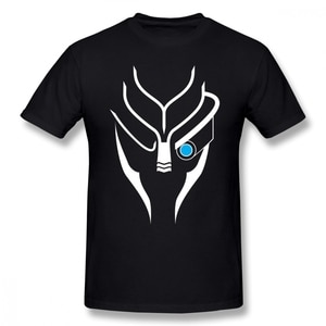 Mass Effect T Shirt Mass Effect Garrus White T-Shirt Print Men Tee Shirt Short Sleeves Funny Oversized Casual Cotton Tshirt