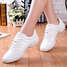 Men Women Training Dance Sneakers Competitive aerobics shoes soft bottom fitness sports shoes Jazz /