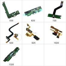 Pour Nokia Lumia 535 625 720 920 925 1020 1320 Micro USB chargement Dock Port chargeur connecteur prise carte de circuit imprimé câble ruban flexible