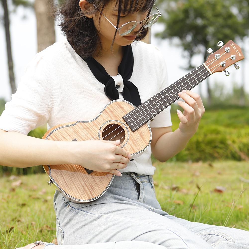 IRIN 23 Inch Ukulele Hawaiian Guitar 4 Strings Mini Guitarra Mahogany Ukulele Musical Lovers Gift Musical Instrument With Bag enlarge