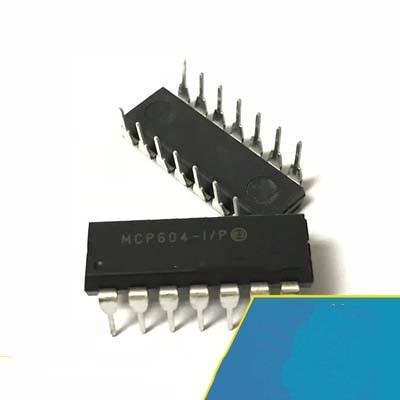 1pcs/lot MCP604-I/P MCP604-IP MCP604-I MCP604 DIP-14 In Stock