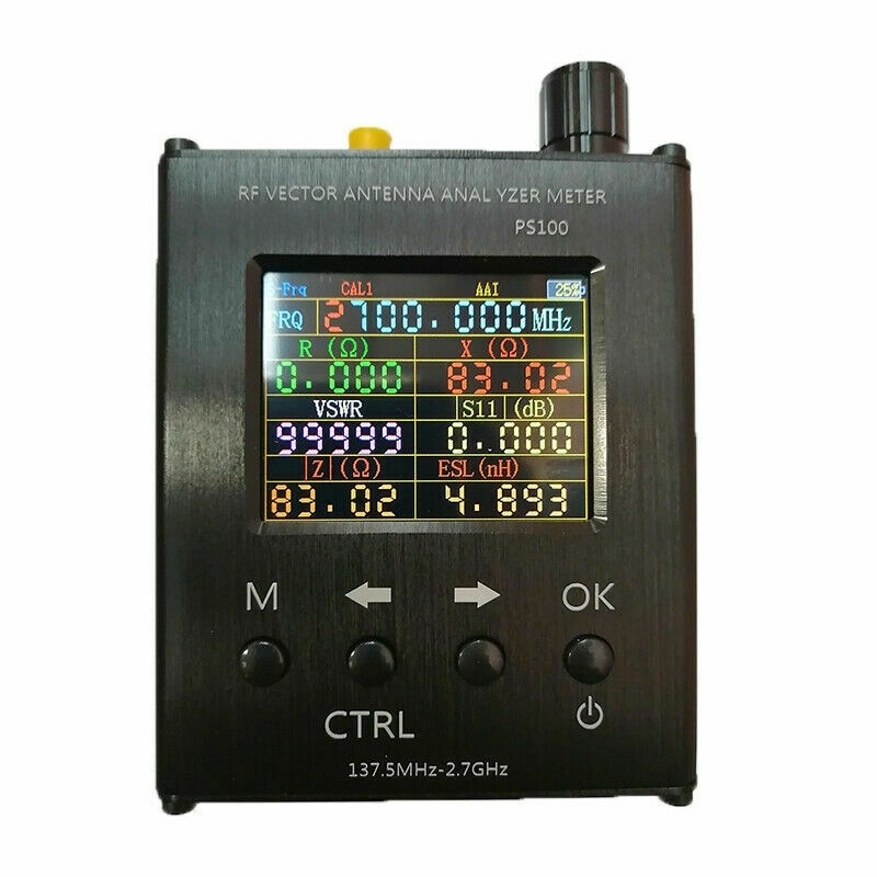 N1201SA الأشعة فوق البنفسجية RF ناقلات مقاومة النمل SWR هوائي محلل متر فاحص 140MHz