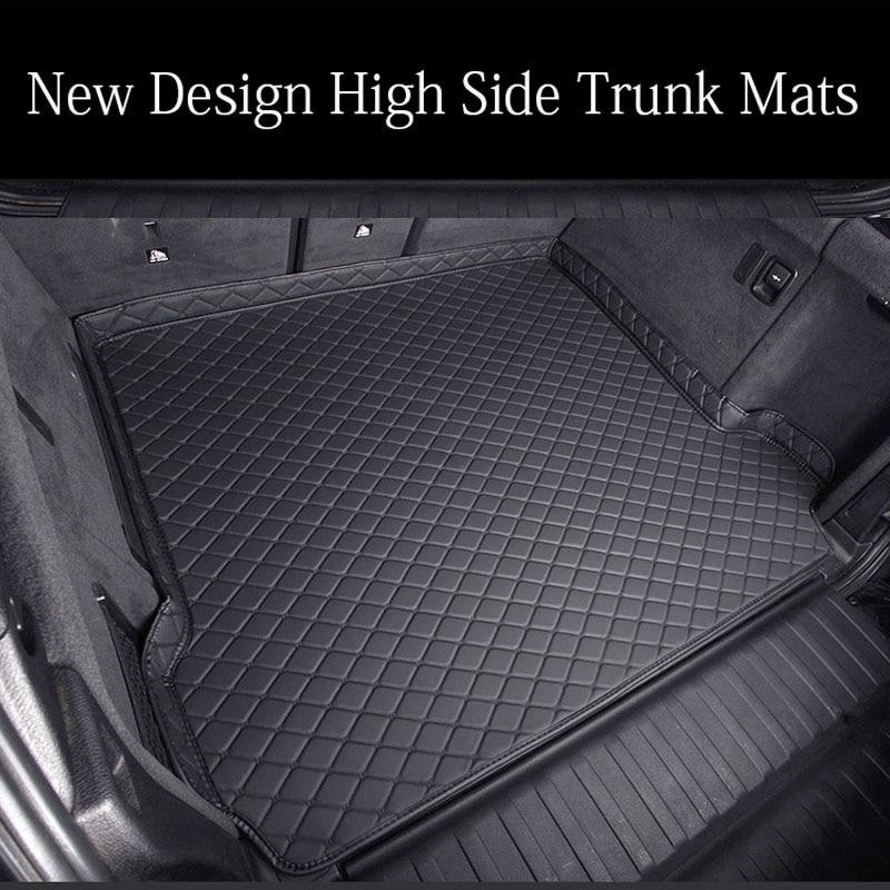 """Hight side Car trunk mats cargo Liner for BMW F10 F11 F15 F16 F20 F25 F30 F34 E60 E70 E90 1 3 4 5 7 Series GT X1 X3 X4 X5 X6 Z4"