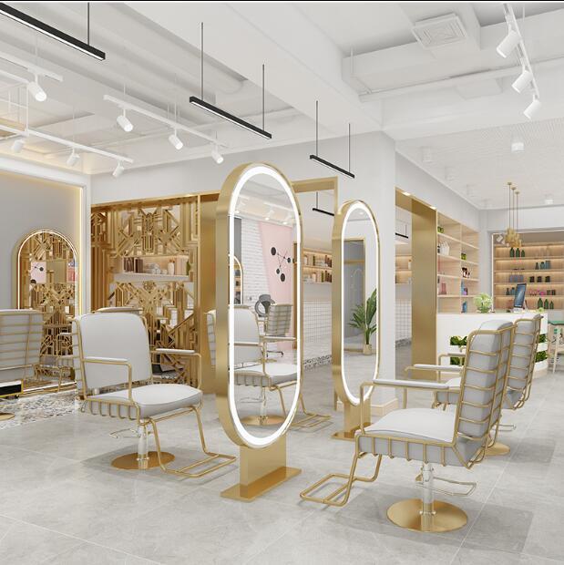 Зеркало-подставка для парикмахерской светильник кой, зеркало для глажки и окрашивания, зеркало для стрижки, студийное зеркало для макияжа