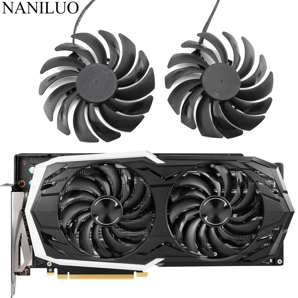 PLD10010B12HH DC12V 0.40A 4PIN RTX 2070 2070SUPER Cooler Fan For MSI GeForce RTX2070 SUPER ARMOR OC Graphics Card Fan