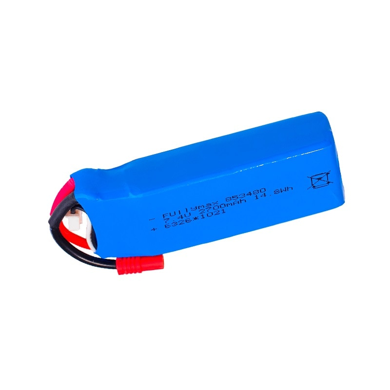 7.4v 2700mAh Lipo battery for Syma X8C X8W X8G X8 RC Drones Parts 7.4V 853480 14.8Wh Toys Battery with Over current protection enlarge