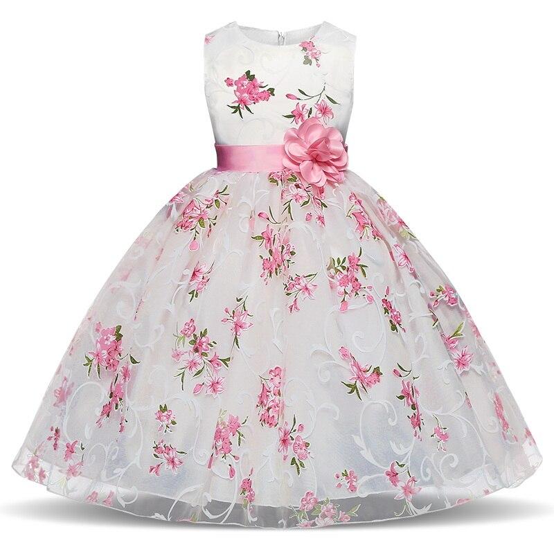Летние платья; Детская одежда; Платье с цветочным узором для свадебных мероприятий; Вечерние костюмы для дня рождения; Детская одежда; Плать...