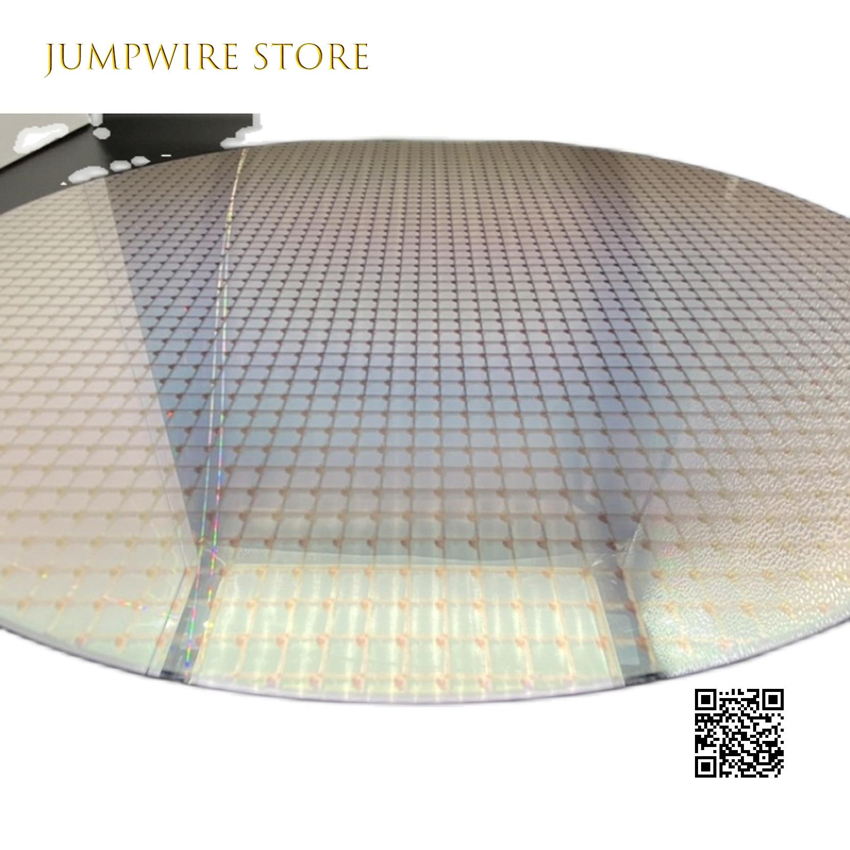 اختبار 12 بوصة 300 مللي متر رقاقة الطباعة الحجرية أشباه الموصلات الدوائر يموت الجسيمات حزمة IC السيليكون الركيزة التكامل