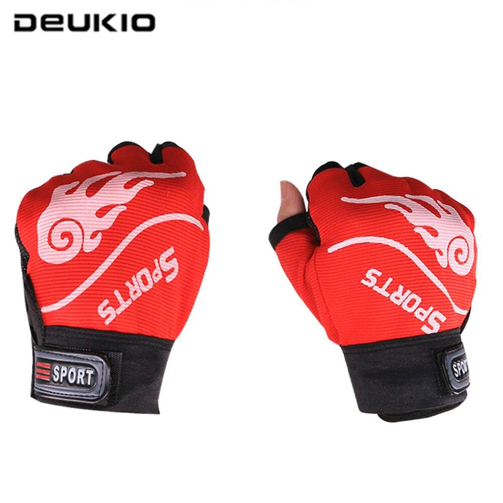 DEUKIO 1 Pair 3 Fingers Cut Outdoor Sport Hiking Gloves Winter Warm Fishing Gloves Waterproof Anti-slip Durable Fishing Gloves enlarge