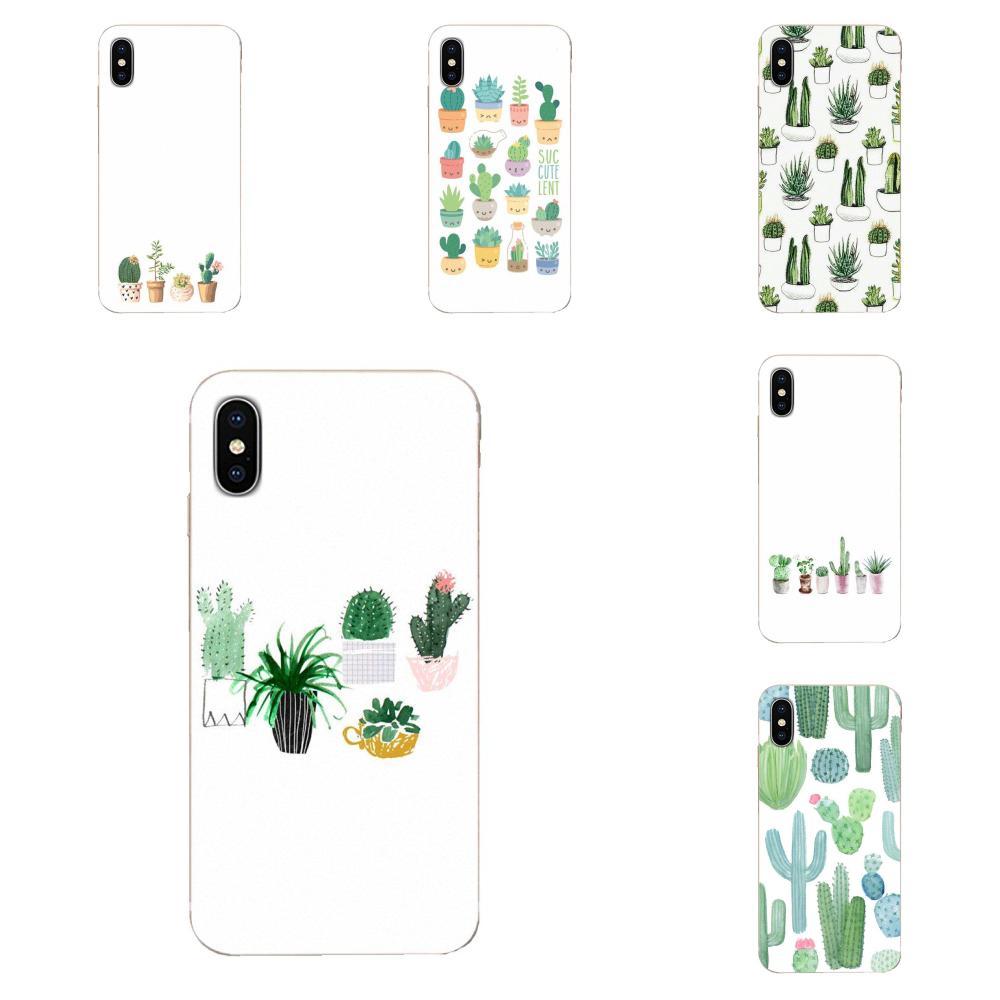 Acuarela cactus y suculentas para LG G2 G3 G4 G5 G6 G7 K4 K7 K8 K10 K12 K40 Mini Plus ThinQ 2016 de 2017 a 2018